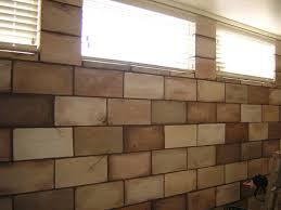 painting cinder blocks painted concrete block wall in cinder