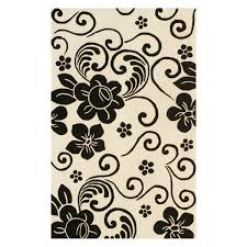 Black And Brown Area Rugs Black Shag Rug Tags Fabulous Black Floral Area Rug Awesome Brown