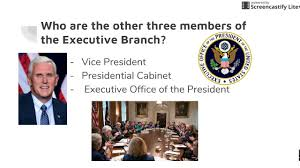 The Presidential Cabinet Executive Branch 5 Youtube