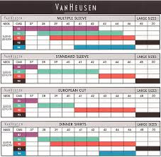 van heusen size chart how to measure sleeve length shirt sizes