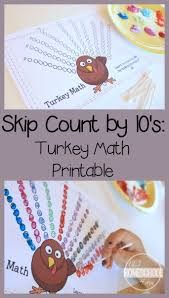 turkey counting by 10 s