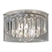 chrome 25w g9 ip44 bathroom triple ceiling light
