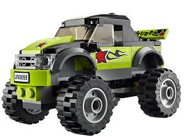 videos de monster truck 4x4 amazon com lego city great vehicles 60055 monster truck toys u0026 games