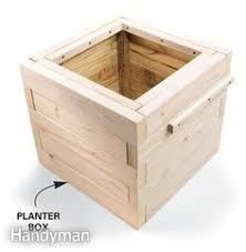 How To Make Planter Boxes by How To Make A Planter Box Cap Cod Style Diy Planter Box