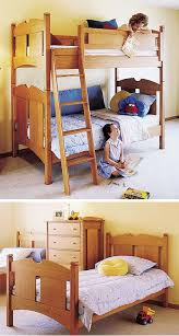 Woodworking Plans Doll Bunk Beds by 70 Best Bunk Bed Plans Images On Pinterest Bunk Bed Plans 3 4