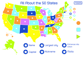 usa map jigsaw level five usa map jigsaw level two usa map states and capitals quiz for