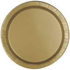 paper plates gold paper plates 8 pack hobbycraft