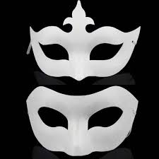 where to buy masks white plain unfinished craft masquerade paper mask cheap