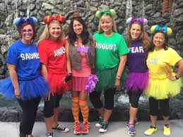 inside out costumes disney costume parade 2016 this fairy tale