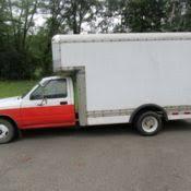 toyota uhaul truck for sale toyota box truck former uhaul 1989 for sale photos technical