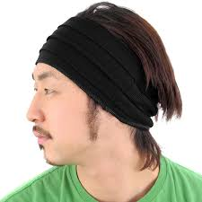 hairband men casualbox mens womens japanese fashion elastic headband sports