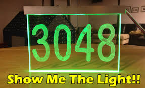 Cool Names For Houses Make Led Light House Number Diy Build Project Youtube