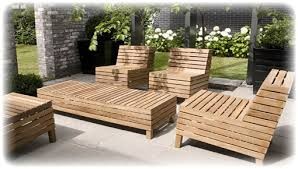 Outdoor Wooden Patio Furniture Long Lasting Patio Furniture