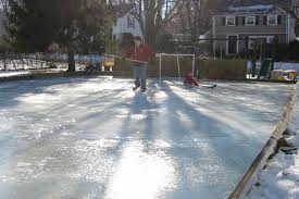 backyard hockey rink outdoor making backyard hockey rink