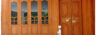 Kerala Traditional Main Door Designs