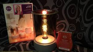 scentsy parlor warmer with edison bulb youtube