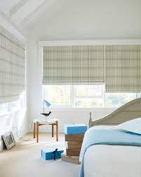 White Wood Blinds Bedroom Roman Shades Roman Blinds Window Treatments Window Coverings