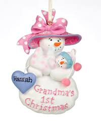 grandma u0027s first christmas personalized ornament