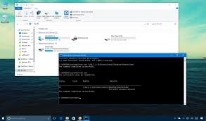 how to map a network drive using command prompt on windows 10