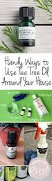 handy ways use tea tree oil around your house wrapped in rust