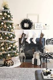 Home Decorating Ideas Black And White Best 25 Black White And Gold Christmas Ideas On Pinterest Black