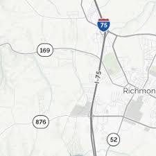 kentucky backroads map richmond ky richmond kentucky map directions mapquest