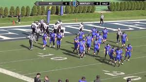 bentley college bentley football vs aic 10 17 15 youtube