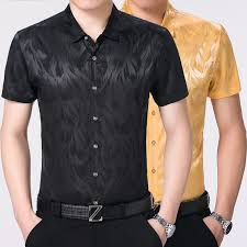 new arrival 2017 men u0027s business silk satin shirt mens formal silk