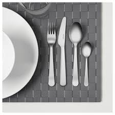 dragon 24 piece cutlery set stainless steel ikea