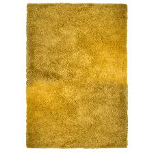 ochre yellow thick shaggy fireplace rugs ontario kukoon