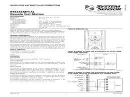 system sensor smoke detector wiring diagram free cokluindir