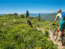 pedal to paddle backyard adventure park city mountain biking