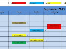 16 training calendar template excel training calendar template 11