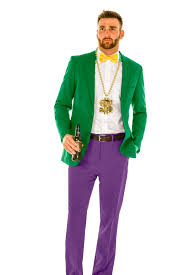 mardi gras men green purple yellow mardi gras suit the careless casanova