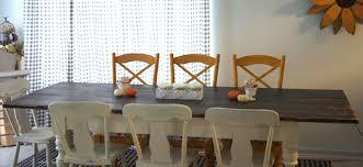 How To Build Farm Table by Build A Custom Farmhouse Table Create And Babble