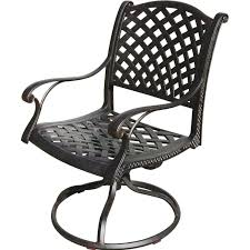 Bar Height Patio Chair Swivel Outdoor Patio Chairs