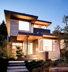Sustainable Modern Home Design In Vancouver Modern Natural And - Exterior modern home design