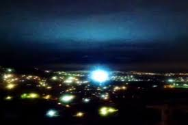 mysterious lights in the sky seen after mexico s earthquake