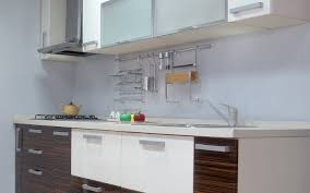 veneer kitchens aluminum glass cabinet doors