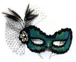 glitter and net women s masquerade mask