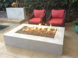 Concrete Fire Pit by Torrey Pines Landscape Company Fireplaces And Fire Pits