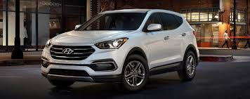 hyundai santa fe sport specifications 2017 hyundai santa fe sport specs features review clarksville md