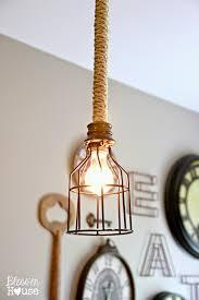 Diy Pendant Light Fixture Diy Industrial Pendant Light For 10 Bless Er House