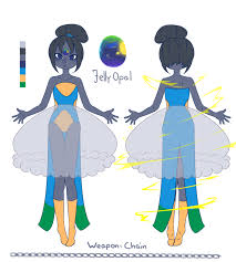 blue opal gemsona gemsona jelly opal by catniim on deviantart