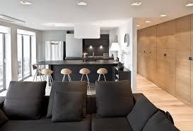 cuisine ouverte moderne cuisine ouverte sur salon surface meilleur idées de