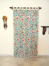 Mexican Kitchen Curtains by Embroidered Blue Pink Curtains Home Decor Discovered