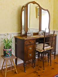 img 9863 antique dressing table with marble top back road journal