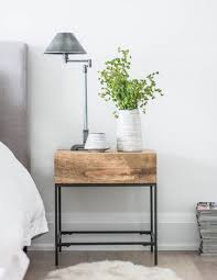 Metal Locker Nightstand Industrial Looking Nightstands Home Design And Decorating Ideas