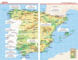Spain France Map by Lonely Planet Spain Travel Guide Amazon Co Uk Lonely Planet