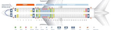 Air China Seat Map by Seat Map Boeing 757 200 American Airlines Best Seats In The Plane